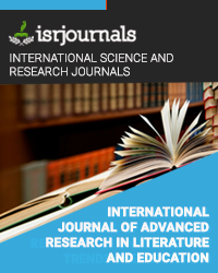 International Journal of Advanced Research in Literature and Education