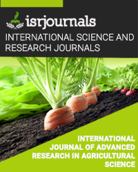 International Journal of Advanced Research in Agricultural Science
