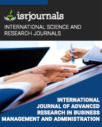 International Journal of Advanced Research in Business Management and Administration