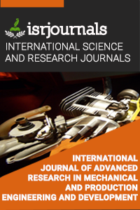 International Journal of Advanced Research in Mechanical and Production Engineering and Development